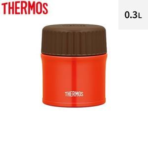 サーモス 0.3L 真空断熱スープジャー JBU-300-R レッド【60サイズ】 emon-shop