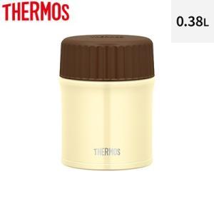 サーモス 0.38L 真空断熱スープジャー JBU-380-WH ホワイト【60サイズ】 emon-shop