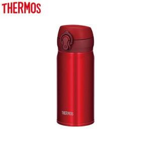 サーモス 0.35L 水筒 真空断熱ケータイマグ JNL-354-MTR メタリックレッド【80サイズ】|emon-shop