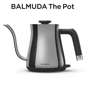 バルミューダ ステンレス製 電気ケトル 0.6L BALMUDA The Pot K02A-CR ク...