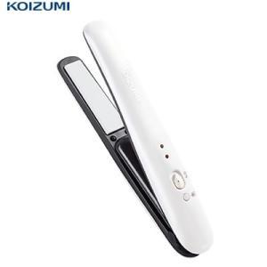 コイズミ コードレスストレートアイロン KHS-8620-W ホワイト【80サイズ】|emon-shop