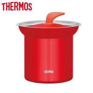 サーモス 約1.0L 真空断熱テーブルスープジャー KJC-1000 KJC-1000-TOM トマト【80サイズ】 emon-shop