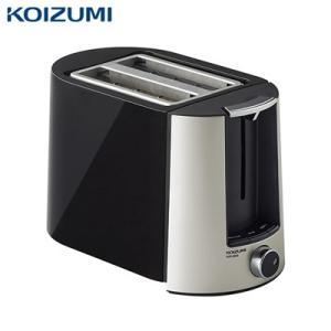 コイズミ ポップアップトースター KOS-0850-K ブラック【80サイズ】|emon-shop