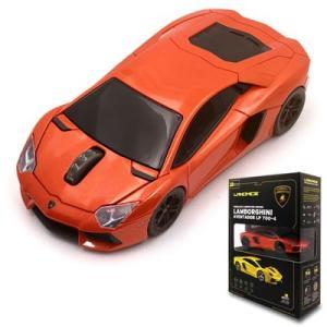LANDMICE Lamborghini LP700 2.4G無線マウス 1750dpi レッド LB-LP700-4-RE【60サイズ】|emon-shop