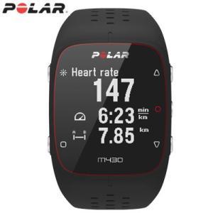 ポラール Polar M430 GPSランニングウォッチ Mサイズ/Lサイズ 活動量計 M430-BK ブラック【60サイズ】 emon-shop