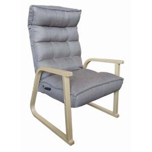 明光ホームテック TVが見やすいレバー式高脚座椅子 MFH-サラン MFH-saran-BE ベージュ【180サイズ】|emon-shop