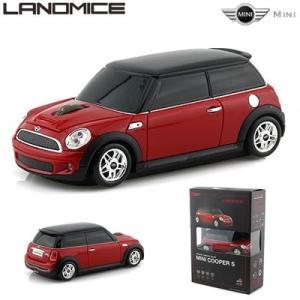 LANDMICE ミニ クーパー 無線マウス 2.4G  MINI-COPS-RE レッド【60サイズ】|emon-shop