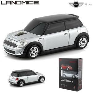 LANDMICE ミニ クーパー 無線マウス 2.4G MINI-COPS-SL シルバー【60サイズ】|emon-shop