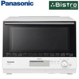 パナソニック 30L スチームオーブンレンジ 3つ星 ビストロ NE-BS805-W ホワイト 2段調理【160サイズ】|emon-shop