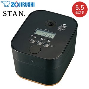 象印 5.5合炊き 炊飯器 IH炊飯ジャー STAN. NW-SA10-BA ブラック【100サイズ】 emon-shop