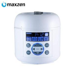 マクスゼン 電気圧力鍋 PCE-MX301-WH ホワイト【80サイズ】 emon-shop