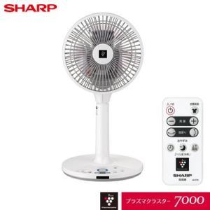 【即納】シャープ プラズマクラスター扇風機 3Dファン DCモーター PJ-J2DS-W ホワイト系【120サイズ】|emon-shop