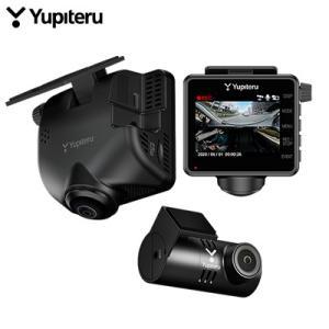 ユピテル 全周囲360°&リアカメラ ドライブレコーダー マルミエ marumie Q-30R 前後2カメラ【60サイズ】|emon-shop