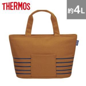 サーモス 保冷ランチバッグ 約4L RDU-0043-BE ベージュ【80サイズ】 emon-shop