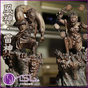 【セット】イSム TanaCOCORO[掌] 風神・雷神 仏像フィギュア イスム tc3505-tc3506【80サイズ】 emon-shop