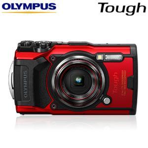 オリンパス Tough TG-6 タフネス コンパクトデジタルカメラ 水中撮影モード搭載 防水防塵 耐衝撃 耐荷重 耐低温 TG-6-RED レッド【60サイズ】|emon-shop