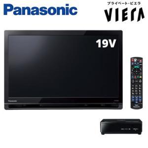 パナソニック 19V型 地デジ ポータブル 液晶テレビ プライベート・ビエラ UN-19F8-K ブラック【140サイズ】|emon-shop