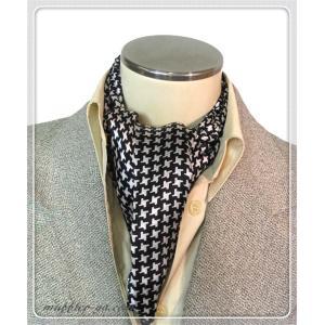 色:黒系 素材:100%シルク サイズ(約):26cm×160cm 中国製  シルク生地で両面縫い合...
