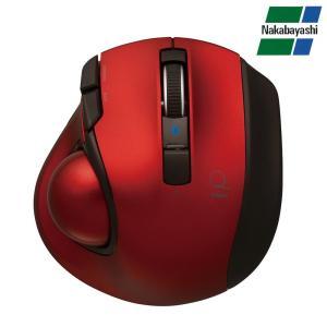 ナカバヤシ Digio2 極小トラックボール「Q」 小型 Bluetooth 静音 5ボタントラックボール レッド MUS-TBLF134R|emonolife