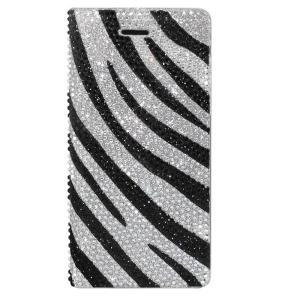 dreamplus iPhone8/7 Perisian Safari Leather Diary ゼブラ|emonolife