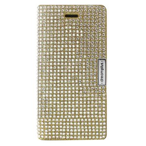 dreamplus iPhone8/7 Persian Leather Diary ゴールド|emonolife