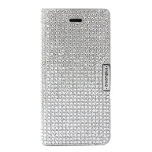 dreamplus iPhone8Plus/7Plus Persian Leather Diary シルバー|emonolife