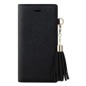 dreamplus iPhone8Plus/7Plus Tassel Jacket ブラック|emonolife