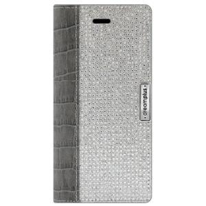 dreamplus iPhone8Plus/7Plus Wannabe Leathrer Diary グレー|emonolife