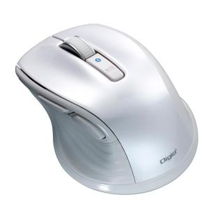 ナカバヤシ 小型 Bluetooth 静音5ボタンBlueLEDマウス ホワイト MUS-BKF143W|emonolife