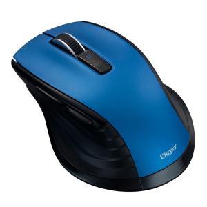ナカバヤシ Bluetooth 静音5ボタンBlueLEDマウス ブルー MUS-BKF146BL|emonolife