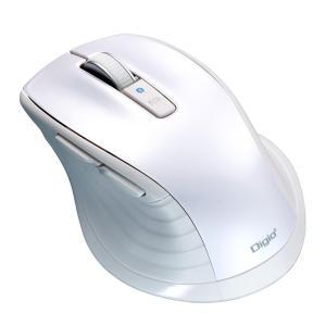 ナカバヤシ Bluetooth 静音5ボタンBlueLEDマウス ホワイト MUS-BKF146W|emonolife