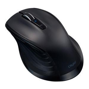 ナカバヤシ 大型 Bluetooth 静音5ボタンBlueLEDマウス ブラック MUS-BKF149BK|emonolife