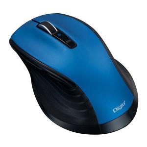 ナカバヤシ 大型 Bluetooth 静音5ボタンBlueLEDマウス ブルー MUS-BKF149BL|emonolife