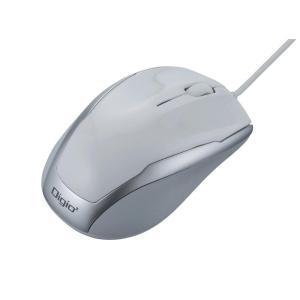 ナカバヤシ 有線 3ボタンBlueLEDマウス ホワイト MUS-UKT115W emonolife