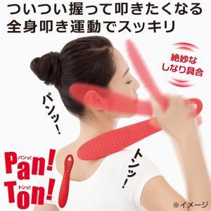 肩たたき 握って 叩いて 全身運動 マッサージ 棒 Pan! Ton!(パンッ!トンッ!)2個セット
