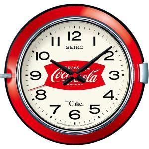 SEIKO セイコー 掛け時計 コカ コーラ ヴィンテージ 250個限定 AC201R スイープ おしゃれ|empire-clock