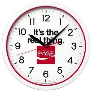 SEIKO セイコー 掛け時計 アメリカン カジュアル インテリア コカ コーラ 限定品 赤 白 レッド ホワイト AC601W【お取り寄せ】|empire-clock