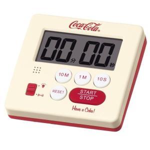 セイコー タイマー アメリカン カジュアル インテリア コカ・コーラ 限定品 赤 白 レッド ホワイト AC603C|empire-clock