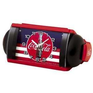 SEIKO セイコー 目覚まし時計 大音量 アメリカン カジュアル インテリア コカ コーラ 限定品 AC604R【お取り寄せ】|empire-clock