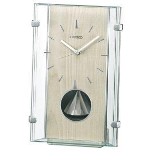 セイコー 置き時計 電波 アナログ 回転飾り 薄緑 BY240M|empire-clock
