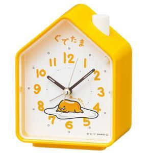 SEIKO セイコー 目覚まし時計 置き時計 キャラクター ぐでたま CQ152Y おしゃべり スイープ おしゃれ かわいい【お取り寄せ】|empire-clock