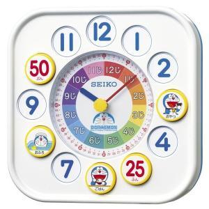 セイコー 掛置兼用時計 知育 ドラえもん アナログ 白 CQ319W empire-clock