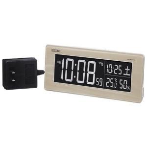 SEIKO セイコー 目覚まし時計 夜でも見える 暗くても見える 電波 デジタル 交流式 カラー液晶 シリーズC3 DL210A【お取り寄せ】|empire-clock