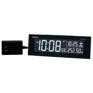SEIKO セイコー 目覚まし時計 夜でも見える 暗くても見える 置き時計 電波 DL305K 【お取り寄せ】|empire-clock