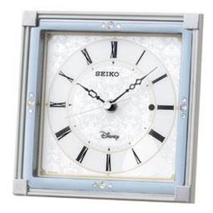 セイコー 置き時計 シンデレラ 電波 アナログ 大人ディズニー 白パール FS202W|empire-clock