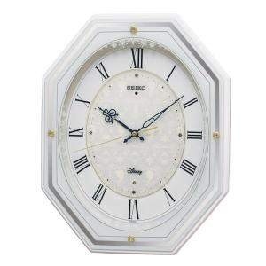 セイコー 掛け時計 アナと雪の女王 電波 アナログ 5曲メロディ 大人ディズニー 白 FS505W|empire-clock