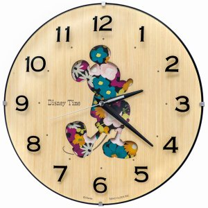 SEIKO セイコー 掛け時計 ミッキーマウス アナログ ミッキー&フレンズ FW586B【お取り寄せ】|empire-clock