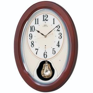 SEIKO セイコー 掛け時計 スタンダード EMBLEM エムブレム 電波 HS445B【お取り寄せ】|empire-clock