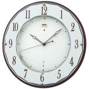 SEIKO セイコー 掛け時計 スタンダード EMBLEM エムブレム 電波 HS524B【お取り寄せ】|empire-clock