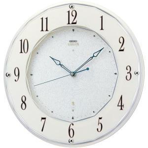 SEIKO セイコー 掛け時計 スタンダード EMBLEM エムブレム 電波 HS524W【お取り寄せ】|empire-clock